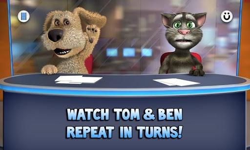 Talking Tom and Ben news на андроид