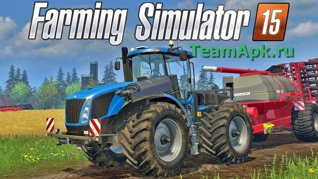 Farming simulator 2015 на android
