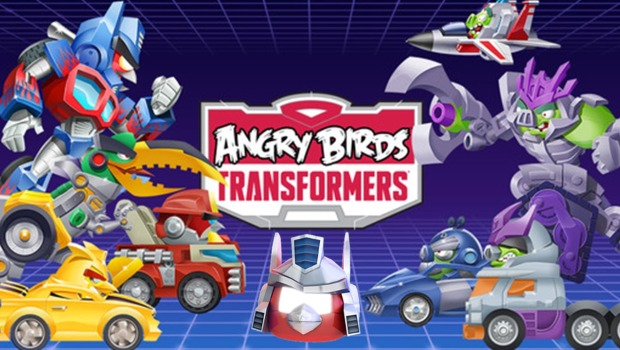 Angry birds: Transformers на андроид