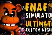 ФНАФ 7: Ultimate custom night на андроид