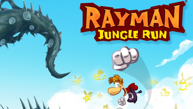 Rayman jungle run для android