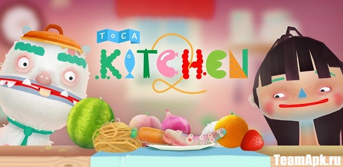 Toca Kitchen для android